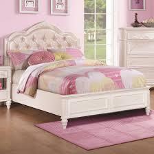 Caroline Twin Size Bed With Diamond Tufted Headboard Coaster 400720T & Coaster 400720T Caroline White Twin Size Bed Diamond Tufted Headboard -  Main Image Adamdwight.com