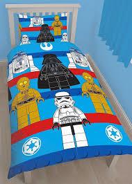 spectacular idea star wars lego bedding set sides kids single duvet quilt cover polycotton