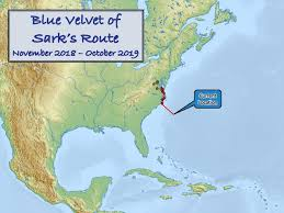 Icw Mileage Chart Exploring The World In Blue Velvet Of Sark November 2018