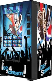 Ice Vending Machine Business Mesmerizing Fastcorp Evolution Ice Cream Vending Machine [INFEVOFS48