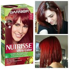 Garnier Ultra Color R3 For Dark Hair Results In 2019 Dyed