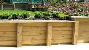 retaining wall wooden garden walls ideas building wood retaining wall detail wood for wooden retaining walls