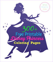 I also added a little party flare with the children and adults will just love to color these cute animals and play the fun games. Free Printable Disney Princess Coloring Pages