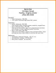 Resume Sample With References Ekizbiz Resume
