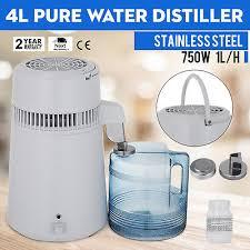 750w 110v water clean filter purifier distiller distilled machine home kitchen