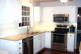 white cabinets dark butcher block my house antique white kitchen cabinets with butcher block countertops