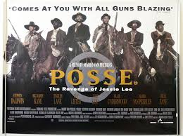 Posse : The Revenge Of Jessie Lee - Original Cinema Movie Poster From  pastposters.com British Quad Posters and US 1-Sheet Posters