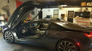 this is julio jones sister inlaws 2016 bmw i8 we repaired her door glass that was vandalized in buckhead ga