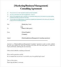 Consulting Agreement Contract Sample Marketing Consulting Agreement ...