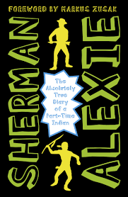 the absolutely true diary of a part time n by sherman alexie hi res cover the absolutely true diary of a part time n