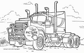 Dump Truck Coloring Pages Beautiful Dump Truck Coloring Pages 40