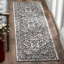 safavieh evoke celeste damask ivory grey rug 2 2 x 7