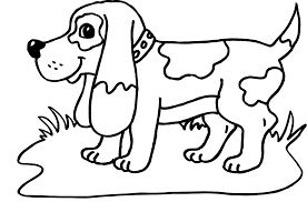 Small Picture Dog Coloring Page Dog Coloring Sheet Activity Coloring Pages Dog
