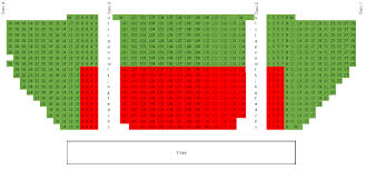 Ppac Seating Chart Ppac Seating Chart Updated 2 19 16 Performing Arts Management