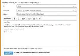 Emailing Your Resumes Sending A Cover Letter Through Email Enchanting Send Your Resume Via
