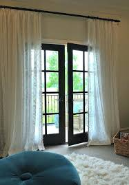 marvelous french door curtains french door curtains target
