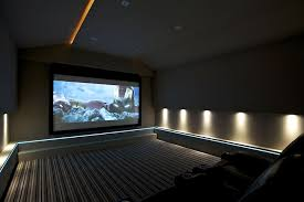 theatre room lighting. light tape home theatre lighting by finite solutions leeds uk was fitted at a relatively low level in cinema room offering u2026