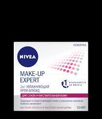 <b>Увлажняющий</b> крем-<b>флюид для</b> сухой кожи Make-up Expert - NIVEA
