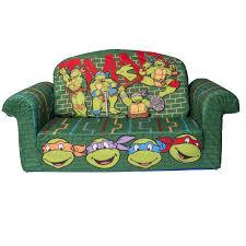 Ninja Turtle Bedroom Furniture Amazoncom Marshmallow Furniture Childrens Upholstered 2 In 1