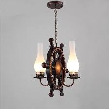 details about pendant lamp creative individual american country wooden metal fixtures lighting