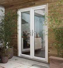 how to install external french doors