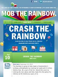 Create The Rainbow Skittles Vending Machine Custom Facebook Strategies Of Candy Makers 48 To 48 Branding