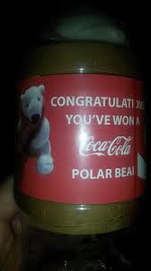 Coke Polar Bear In Bottle Vending Machine Unique Guy Gets An Unexpected Surprise When Buying A Coke From A Vending