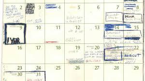 Calnedar Whats In Teenage Kavanaughs Summer 82 Calendar Sports Movies