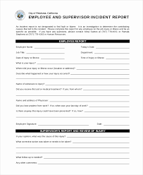 Medical Report Template Free Downloads Elegant Incident Report ...
