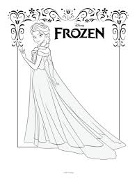Small Picture Get This Free Printable Queen Elsa Coloring Pages Disney Frozen