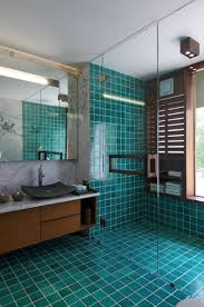 Bathrooms  Contemporary Mosaic Bathroom Design Walk In Shower - Mosaic bathrooms