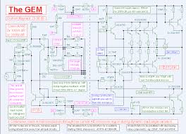 class h schematic the wiring diagram the gem class a ab amplifier circuit circuit wiring diagrams