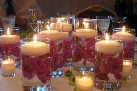 Simple Candle Decoration Wedding Table Decoration Magnificent Simple Wedding Table