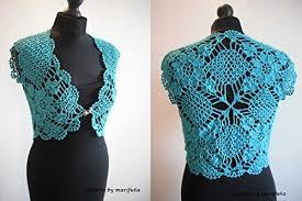 Crochet Shrug Pattern Classy Crochet Mint Bolero Shrug Pattern Pdf By Marifu48a Crochet Mint