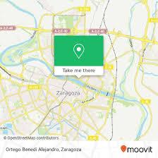 How to get to Ortego Benedi Alejandro in Zaragoza by Bus, Light Rail or  Train | Moovit