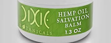 dixie botanicals hemp oil supplement capsules