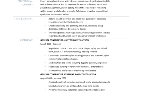 Generic Resume Examples Resume Career Objective