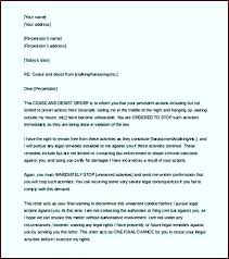 cease and desist letter template slander harment copyright infringement canada a