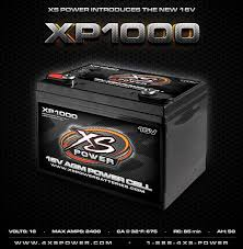 Xs Battery Chart The New Xp1000 16v Battery Xs Power