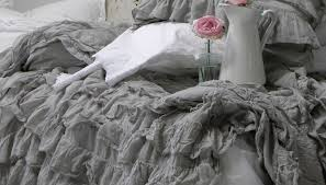 full size of bed grey ruffle bedding attracted or the i pink back am ruffles