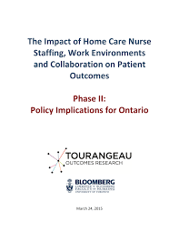 Pdf The Impact Of Home Care Nurse Staffing Work