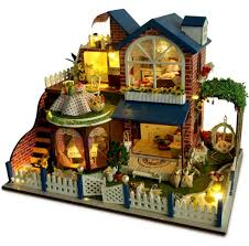 aliexpresscom buy 112 diy miniature doll house. Affordable Dollhouse Furniture. Furniture Aliexpresscom Buy  Miniature 112 Diy Doll House Provence Wooden U