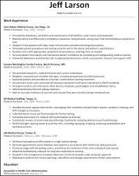 Example Of Medical Assistant Resume Resume And Cover Letter