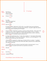 Ideas Collection Full Block Business Letter Parts For Your Free