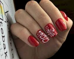 How To Christmas Nail Designs Top 100 Trending Nail Art Ideas For You Christmas Nails