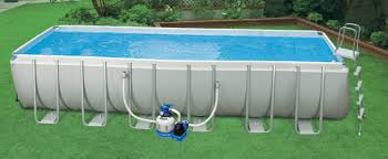 rectangle above ground swimming pool. Image Of: Intex Ultra Frame Pool Plan Rectangle Above Ground Swimming