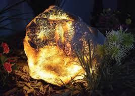 12v garden rock lights outdoor rock