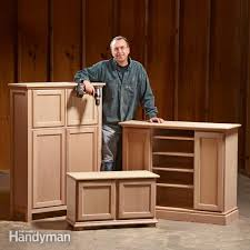 Diy mdf furniture Bench Seat The Family Handyman Diy Furniture The Family Handyman