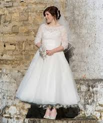 plus size wedding dresses with sleeves tea length vintage tea length garden wedding dresses 2016 heart shaped back