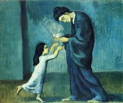 the soup by pablo picasso